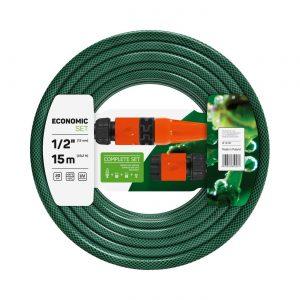 Cellfast Wąż ogrodowy ECONOMIC + końcówki