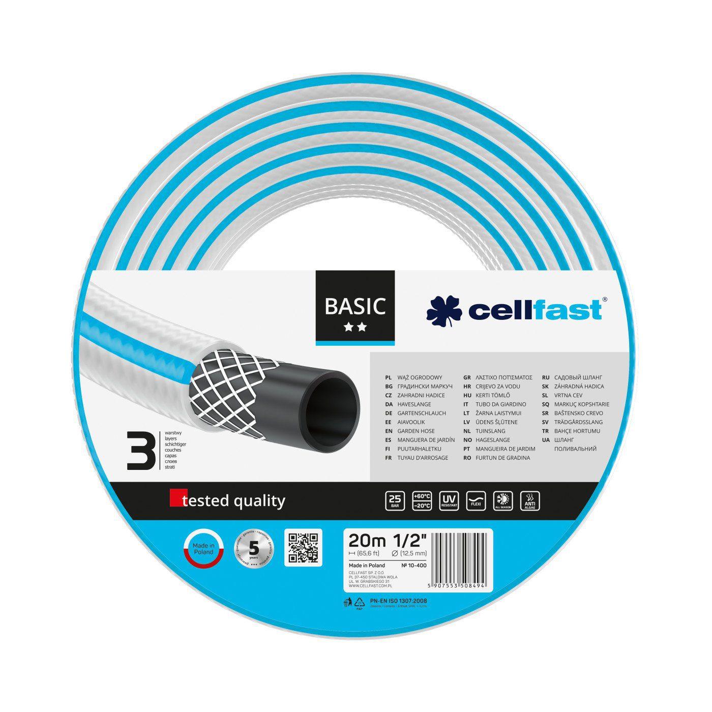 Cellfast Wąż ogrodowy BASIC